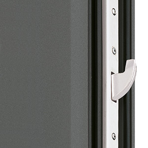 Locks on Groke aluminium front doors