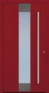 Door Model With Sandblasted Glass Element From The Eleganz Series